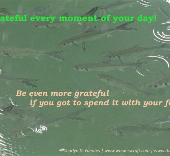 Day 4: Be Grateful for Every Single Moment You Have!