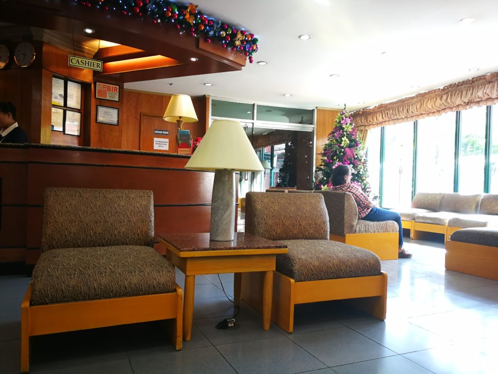 Cebu Business Hotel Lobby